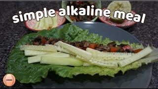 Simple Lettuce Wrap Recipe | Alkaline Vegan Meal | alkaline yummies