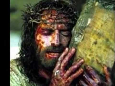 GDY POD KRZYŻEM UPADAŁ  -  KREW CHRYSTUSA...CO SPŁYWAŁA NA ZIEMIĘ.