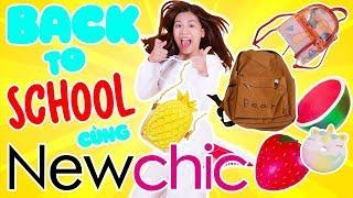 Yến Nhi Back To School cùng NewChic: SQUISHY KHỔNG LỒ, QUÀ MÙA TỰU TRƯỜNG | NYN KID