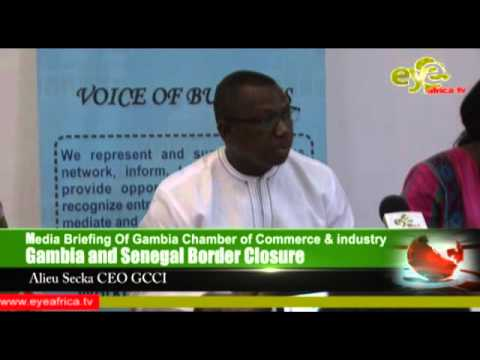 GCCI Media Briefing Stand on Gambia Senegal Border Closure