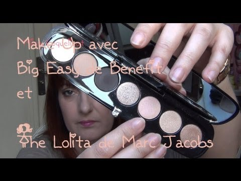 Make Up avec la Palette The Lolita de Marc Jacobs / Miss Coquelicot