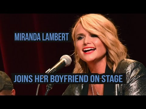 Miranda Lambert Joins Boyfriend Anderson East to Sing Mariah Carey