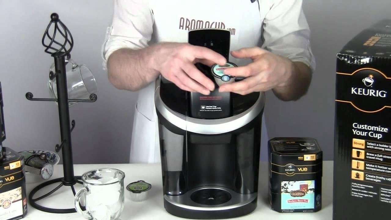 Iced Coffee Maker Keurig : Keurig Vue Iced Tea - YouTube