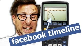 Facebook Timeline for Math Nerds