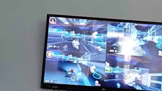 Playing Super smash Wii u/ Mario kart 8