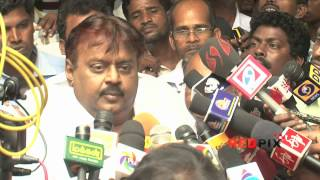 Actor Vijaykanth pays Homage - Veteran actress Manjula Vijayakumar, died. [REDPIX]