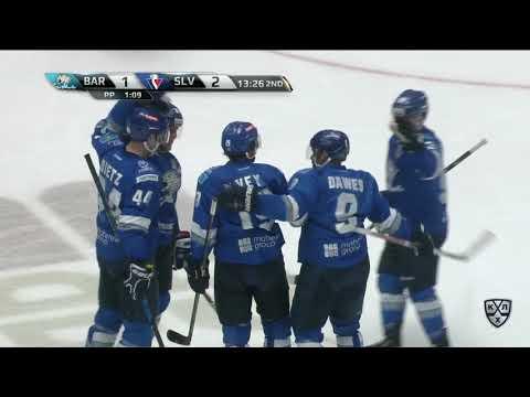 Slovan 2 Barys 5, 1 November 2017 Highlights