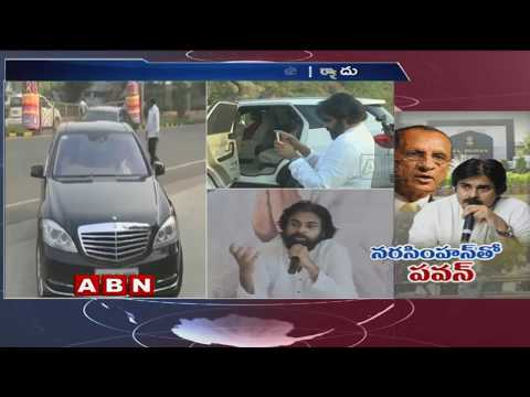 Pawan Kalyan Meets Governor Narasimhan | Reports AP Govt Failure In Cyclone Titli Relief Works