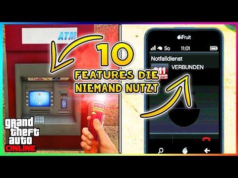 10 FEATURES AUS GTA 5 ONLINE DIE NIEMAND MEHR NUTZT! | GTA V