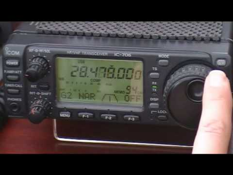 ICOM IC-706 Mk 1 on 10 Meters