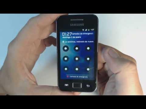 Samsung Galaxy Ace S5839i - How to reset - Como restablecer datos de fabrica