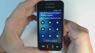 Samsung Galaxy Ace S5839i - How to reset - Como restablecer datos de fabrica