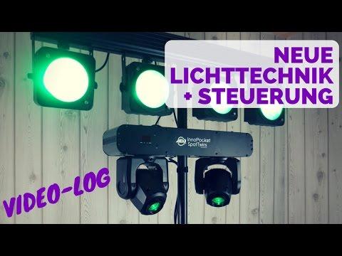 VLOG | Meine neue Lichttechnik + Steuerung Air DMX | DJ Mike Hoffmann