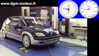 Mise au point DGM Citroen Saxo 1 6L 16s F2000