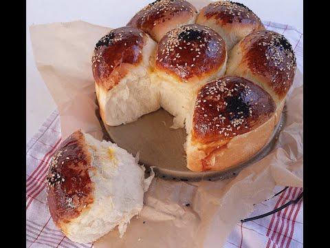 Çiçek Ekmek Tarifi Videosu - Ekmek Tarifleri