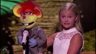 Darci Lynne's New Singing Puppet Has a Romantic CRUSH on Mel B | America's Got Talent 2017