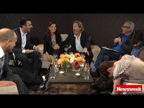 2010 Oscar Roundtable Outtake: Jeff Bridges' Foot Fetish -- video.NEWSWEEK.com