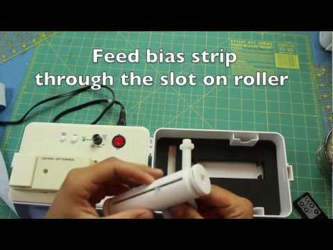 Simplicity Bias Tape Maker Machine & Tutorial- Baby Burp Cloth