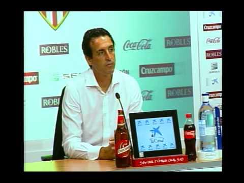 Rueda prensa Unai Emery. 01/08/13. Sevilla FC