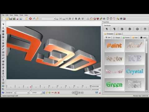 How to make Camera & Light animation by Aurora 3D Animation Maker new functions