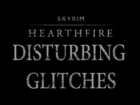 Skyrim Hearthfire glitches - Disturbing Naked Children! (HD)