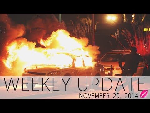 Christmas In Nov, Leaving Your Church & No Darren Wilson Indictment• WEEKLY UPDATE • Glamazini