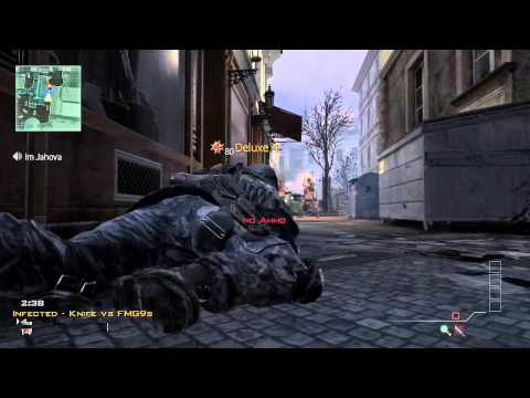 MW3 - Infected Fun!  (No Kill Trolling)