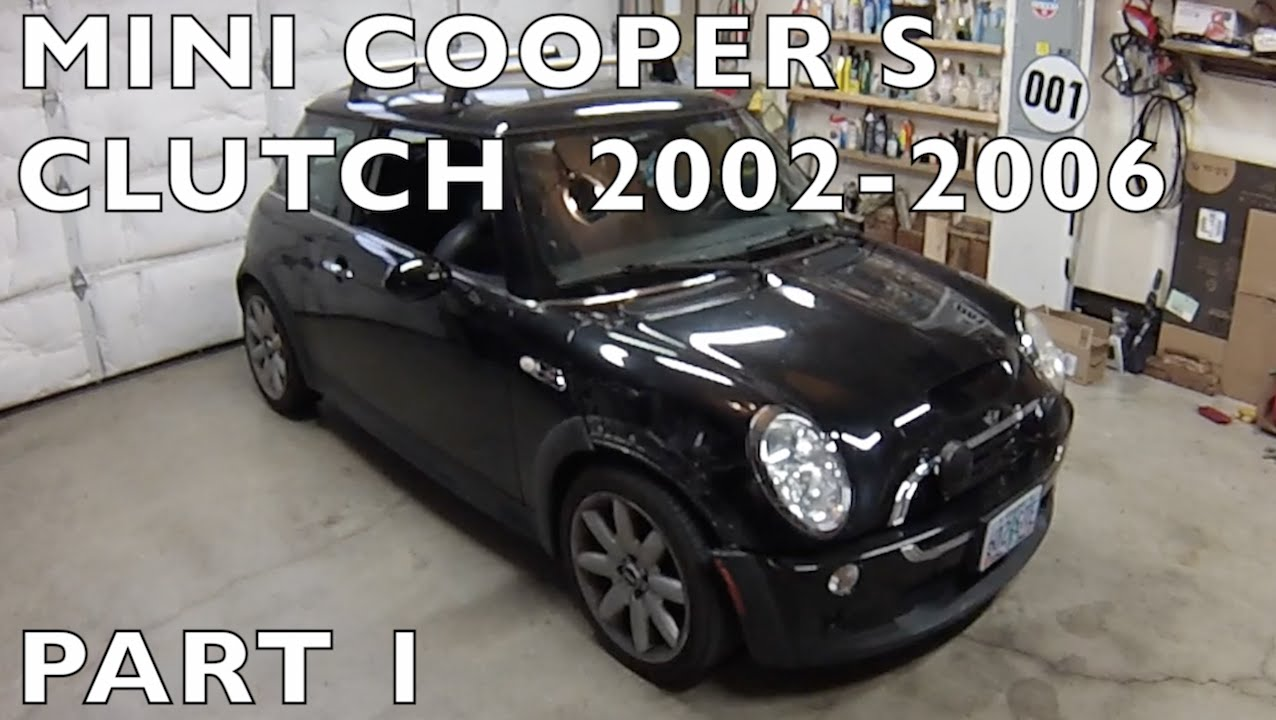 2002 06 mini cooper s clutch replacement part 1 of 2. Black Bedroom Furniture Sets. Home Design Ideas