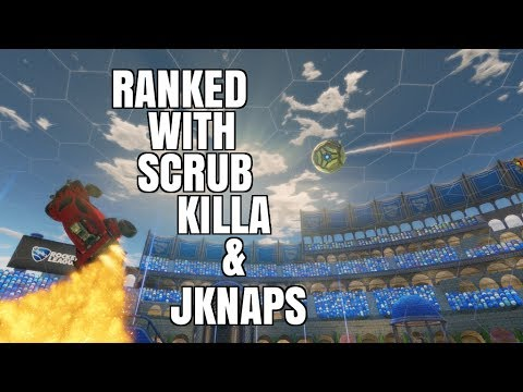 Rocket League | Ranked With Scrub Killa & Jknaps | Competitive Highlights