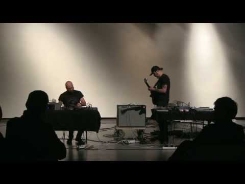 Mika Vainio and Joachim Nordwall at Henie Onstad Kunstsenter