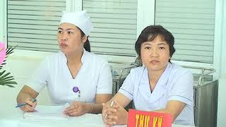 Thi kiểm tra tay nghề điều dưỡng, nữ hộ sinh, kỹ thuật viên tại BVĐK Vũ Thư