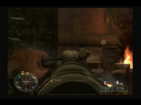Call of Duty World at War Final Fronts (PS2) Gameplay