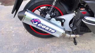Honda PCX 125 2015, Exhaust J COSTA