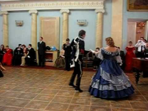 Танец Мазурка в 5 па,