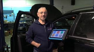 Diagnostic tool TopDon / ArtiPad 1 - Diagnosing a Volvo XC90