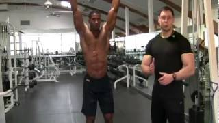 Weighted Hanging Leg Raise   Muscle & Fitness