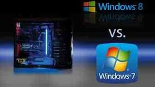 Windows 7 VS Windows 8.1 Gaming Performance/60Fps