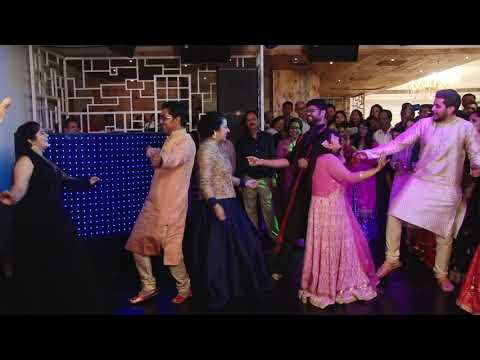 Tere naal nachan nu jee karda | Group dance performance at ring ceremony performance