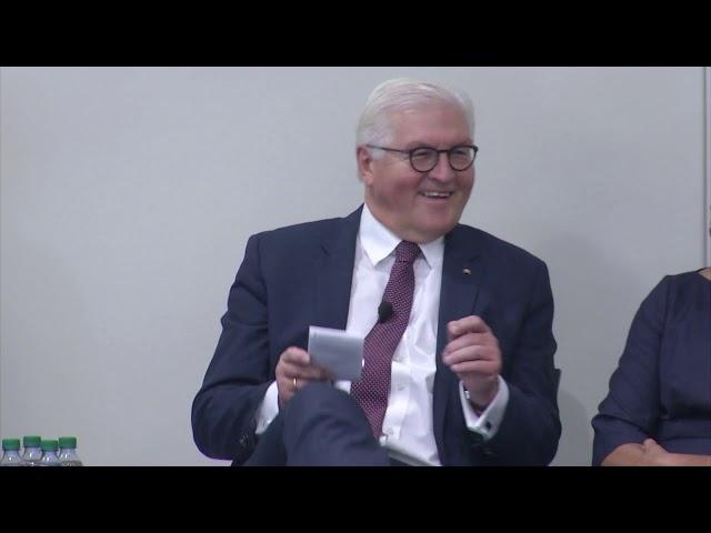 German President Frank-Walter Steinmeier Discusses Digital Technology Ethics