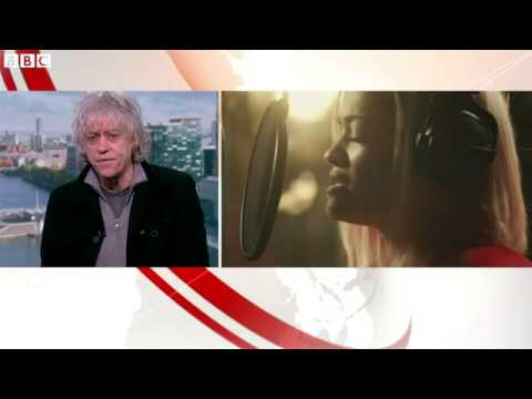 Sir Bob Geldof  'I love criticism of Band Aid'