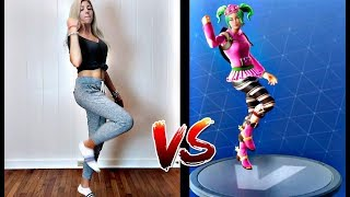 FORTNITE DANCE CHALLENGE! (In Real Life)