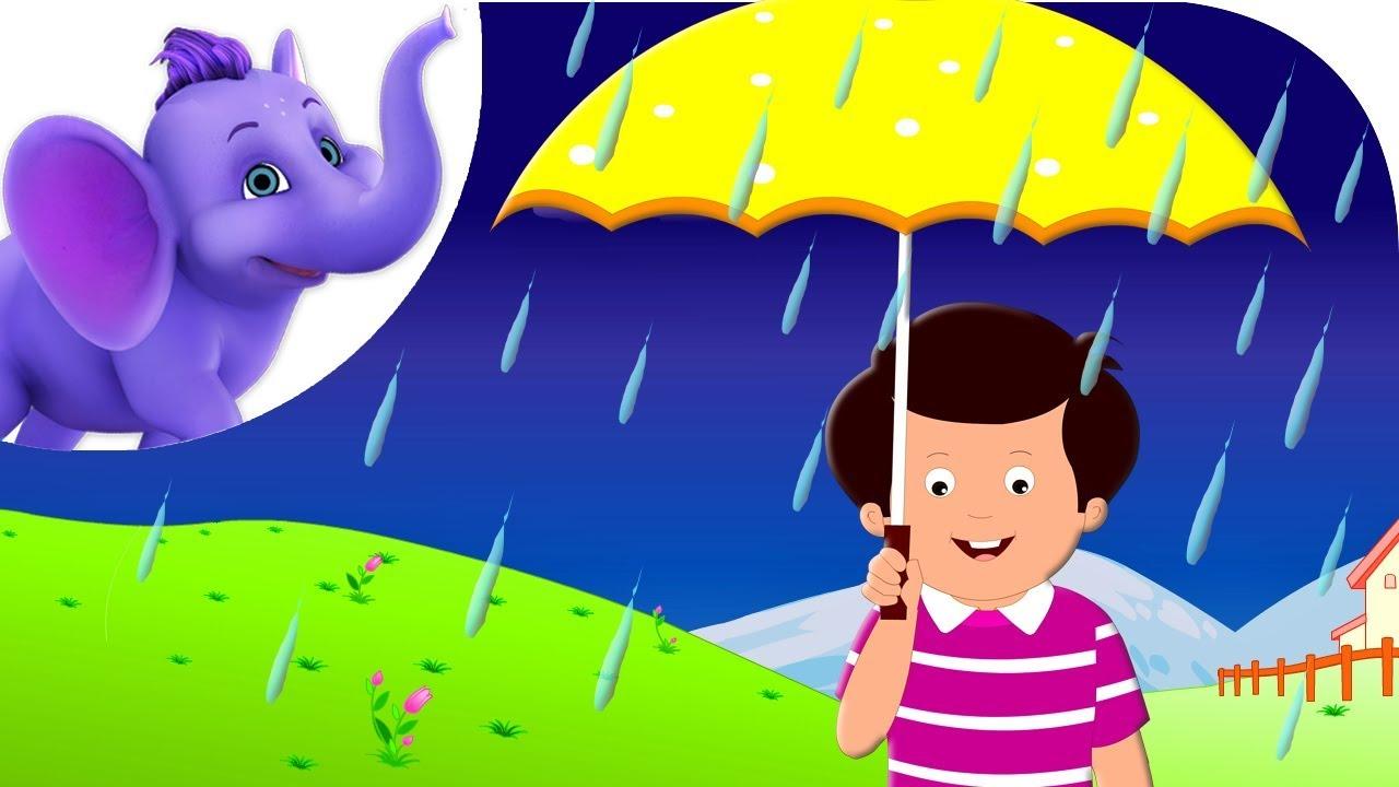 rain on the green grass nursery rhyme with karaoke youtube