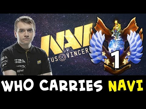 The man who carries NaVi — TOP-1 RANK Crystallize