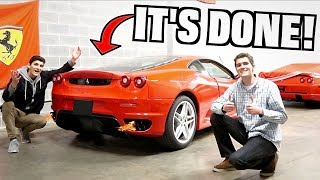 Our Straight Piped Ferrari F430 Rebuild Project Is DONE!