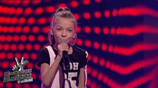 Sofija Vasilevskytė - We found love | Blind Auditions | The Voice Kids Lithuania S01