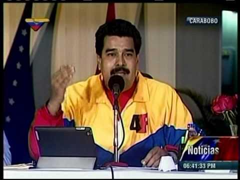 Maduro lee el Chávez nuestro
