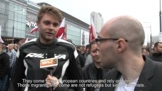 POLISH AGAINST  IMMIGRANTS   THE TRUTH THAT YOU WON T SEE IN THE TELEVISION! Marcin Rola s PROBE!