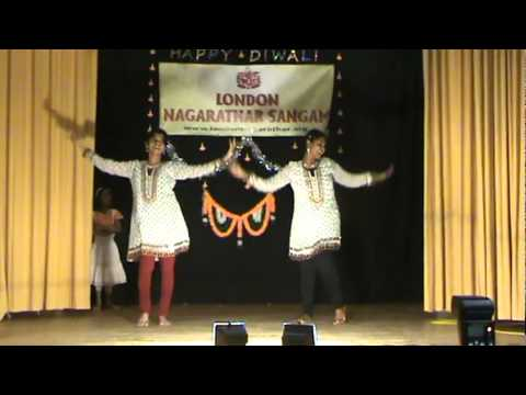 Priya and Shivagami Diwali Dance 2011 - London Nagarathar Sangam