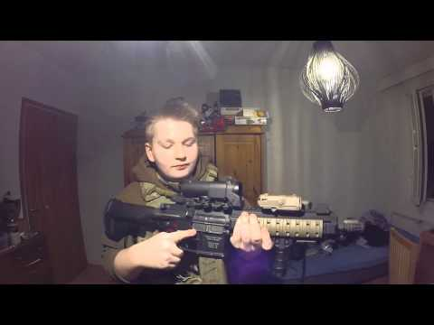 Airsoft Tips: Aseen lataus.