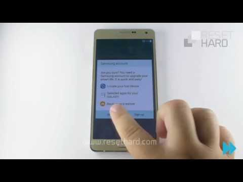 How To Hard Reset Samsung Galaxy A7